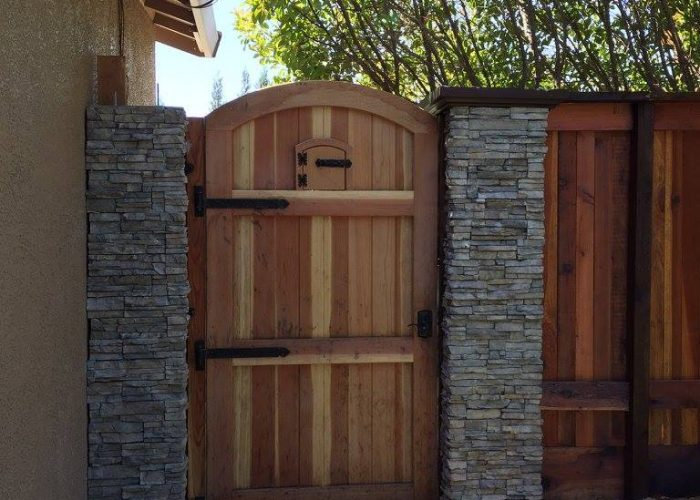 Wood Fence Contractor Wood Gate Installer Fence Granite