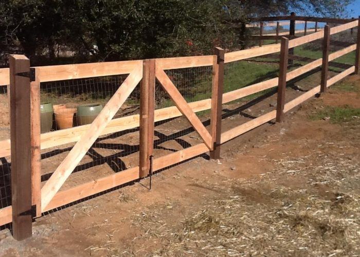 Corral Fence Contractor Corral Gate Installer Install
